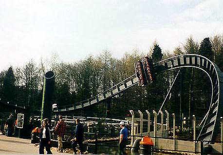 Oblivion Roller Coaster Photos
