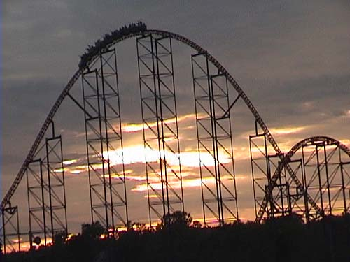 superman  ride of steel roller coaster photos  six flags