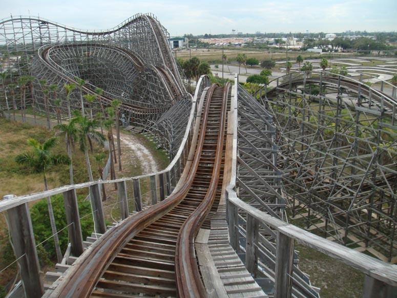 porn on a roller coaster