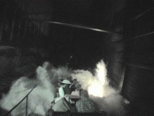 blazing fury roller coaster photos  dollywood