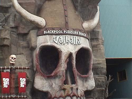 Blackpool Pleasure Beach Photos