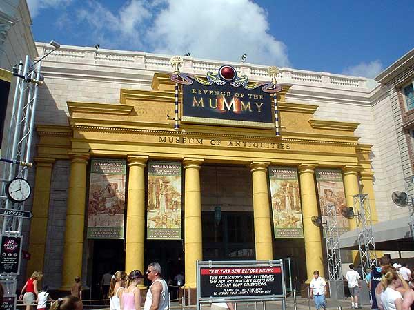Kết quả hình ảnh cho Mummy Universal Studios Florida