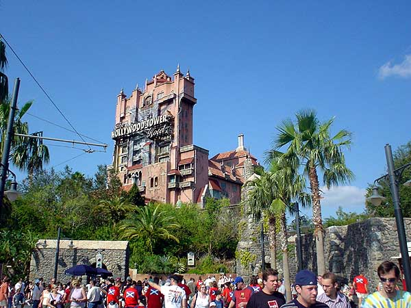 Tower Of Terror Ride Photos Disney Mgm Studios Orlando Fl