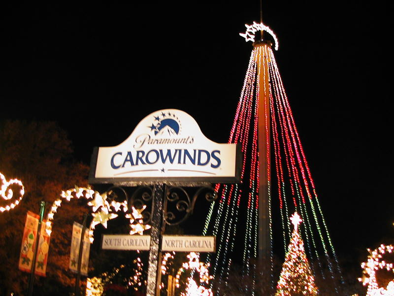 ptr winterfest carowinds connection
