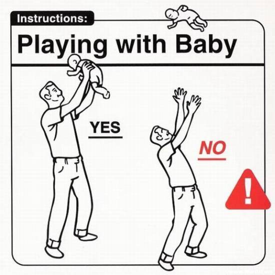 theme park review u2022 instruction manual for your baby rh themeparkreview com Funny Advice for New Parents Safety First Walker Instruction Manual