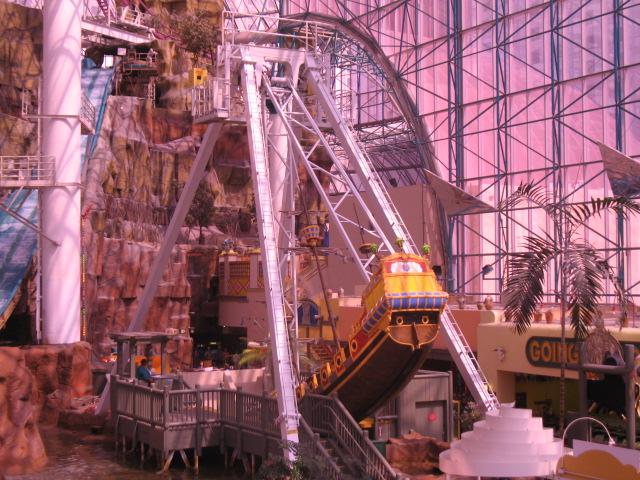 Adventuredome At Circus Circus Hotel Amp Casino Sand Pirate