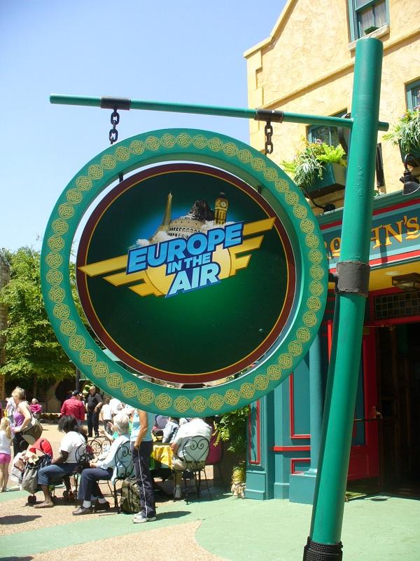 Busch Gardens Williamsburg - Europe in the Air