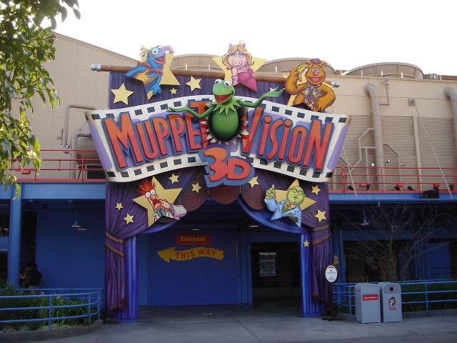 Disney California Adventure Muppet Vision 3d