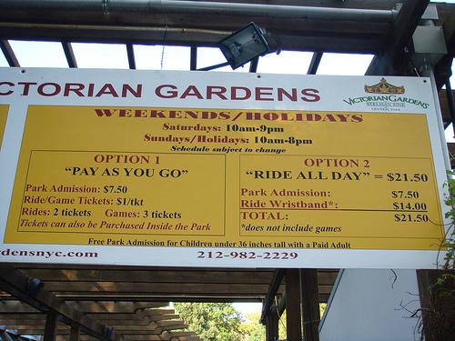 Photo Trip Report: Victorian Gardens, New York, NY