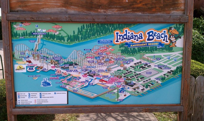 Photo TR Indiana Beach June 5 2011  Theme Park Review