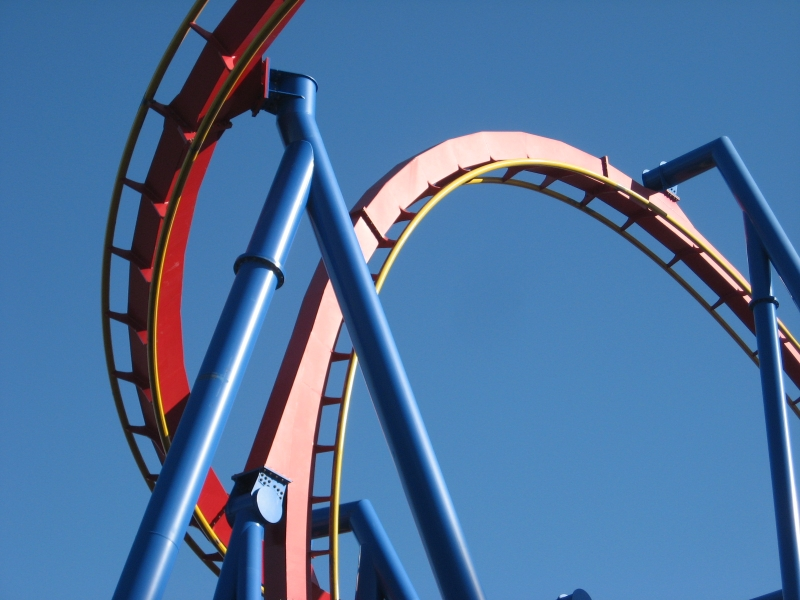Superman: Ultimate Flight Roller Coaster Photos, Six Flags ...