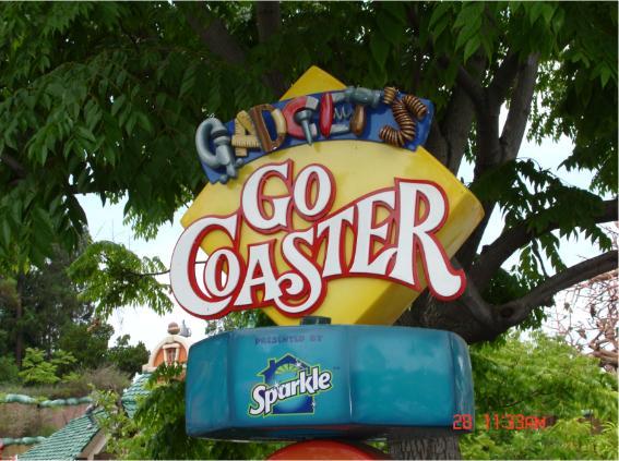 Disneyland Gadget S Go Coaster