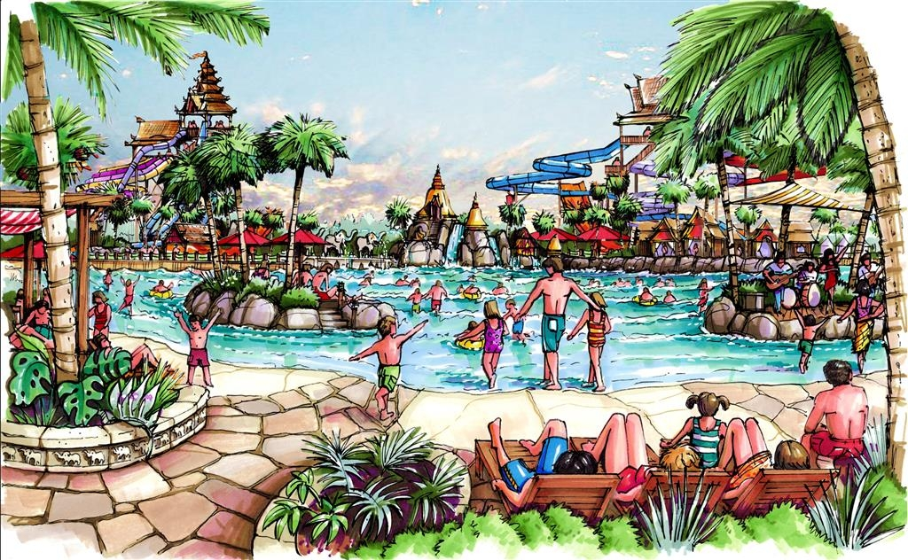 Another Water Park For Whitewater West To Open In Thailand Theme Park Review