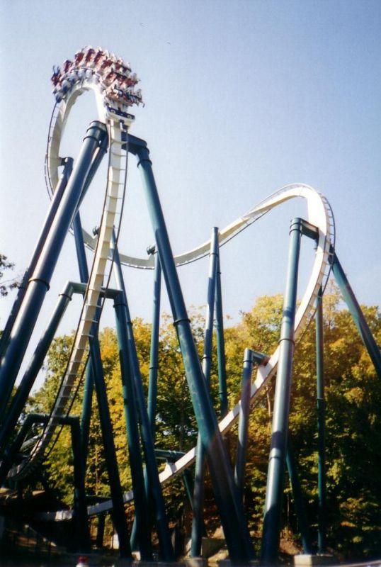 Alpengeist Roller Coaster Photos