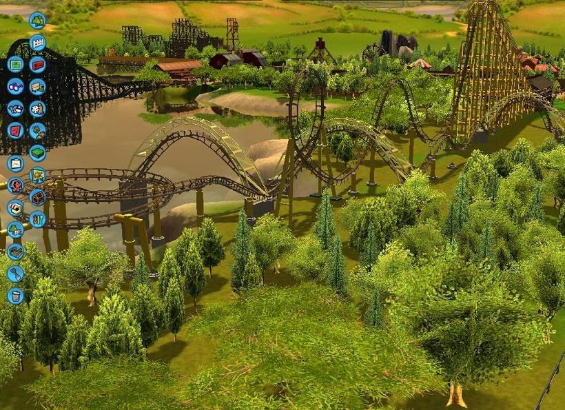 Theme Park Review Rct3 Six Gun Territory