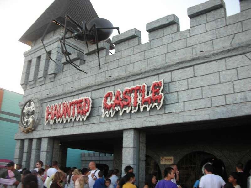 Santa Cruz Beach Boardwalk - Haunted Castle (defunct)