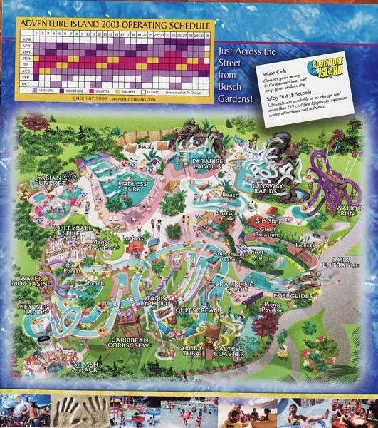 Eric S Brochure Kingdom The Return Page Theme Park Review