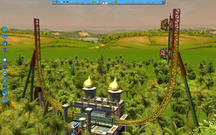 Rollercoaster Tycoon 3, Wild!, Career Mode, Scenario 1; Scrub ...