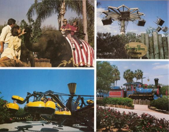 Busch Gardens Tampa Early 39 80s Souvenir Book Shane 39 S