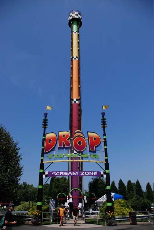 Carowinds - Drop Tower