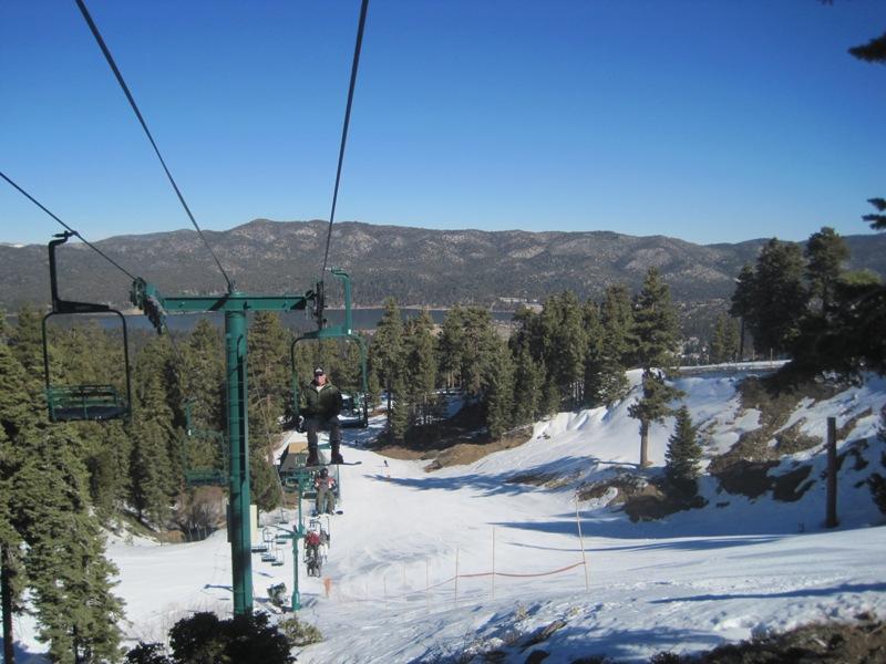 Big Bear Lake Chair Lift Images