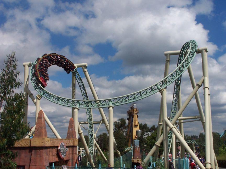 Colossus Roller Coaster Photos Thorpe Park