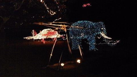 Theme Park Review The Christmas Lights Of Ballplay Alabama