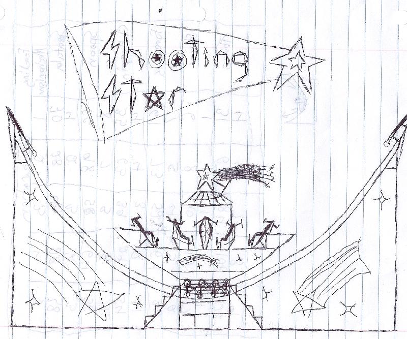 how to draw luna park