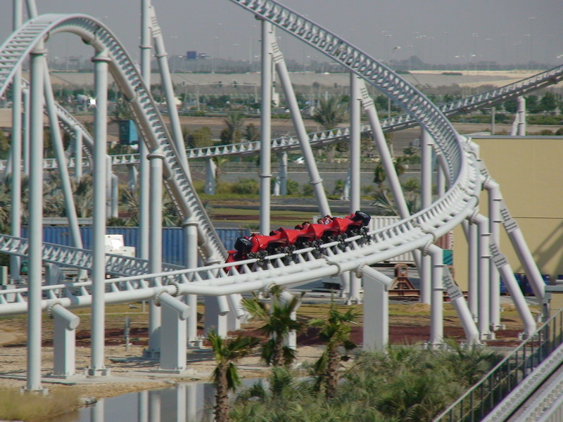 Roller Coaster Of The Day: Formula Rossa U2013 Ferrari World U2013 Life, The  Universe, And Everything