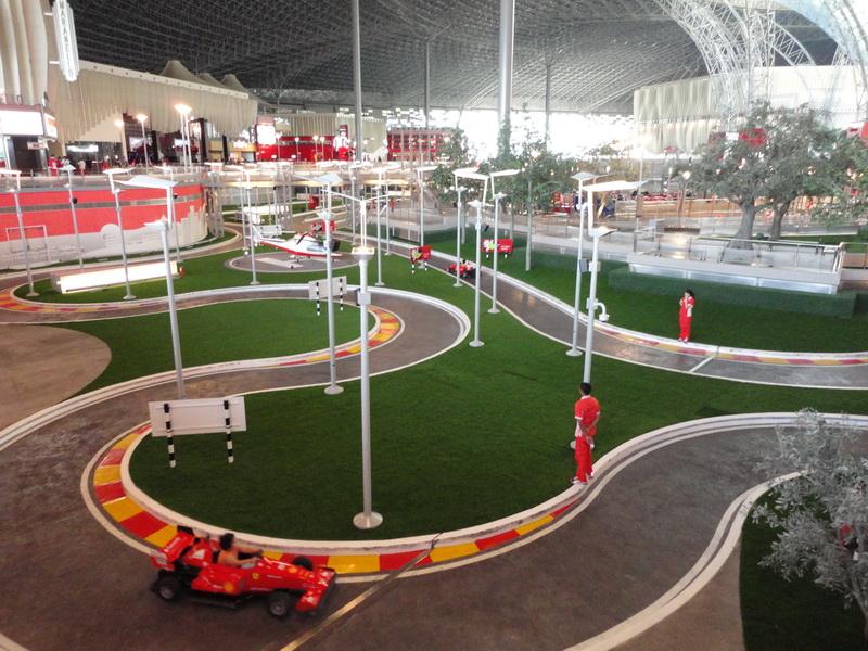 Ferrari World Abu Dhabi Trip Report Theme Park Review