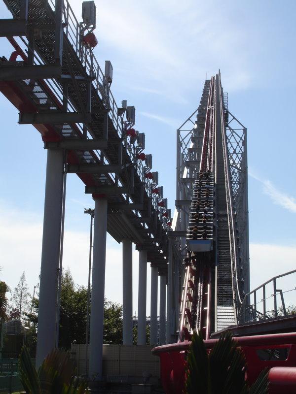 steel dragon 2000 roller coaster photos  nagashima spa land