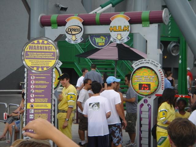Hulk Entrance