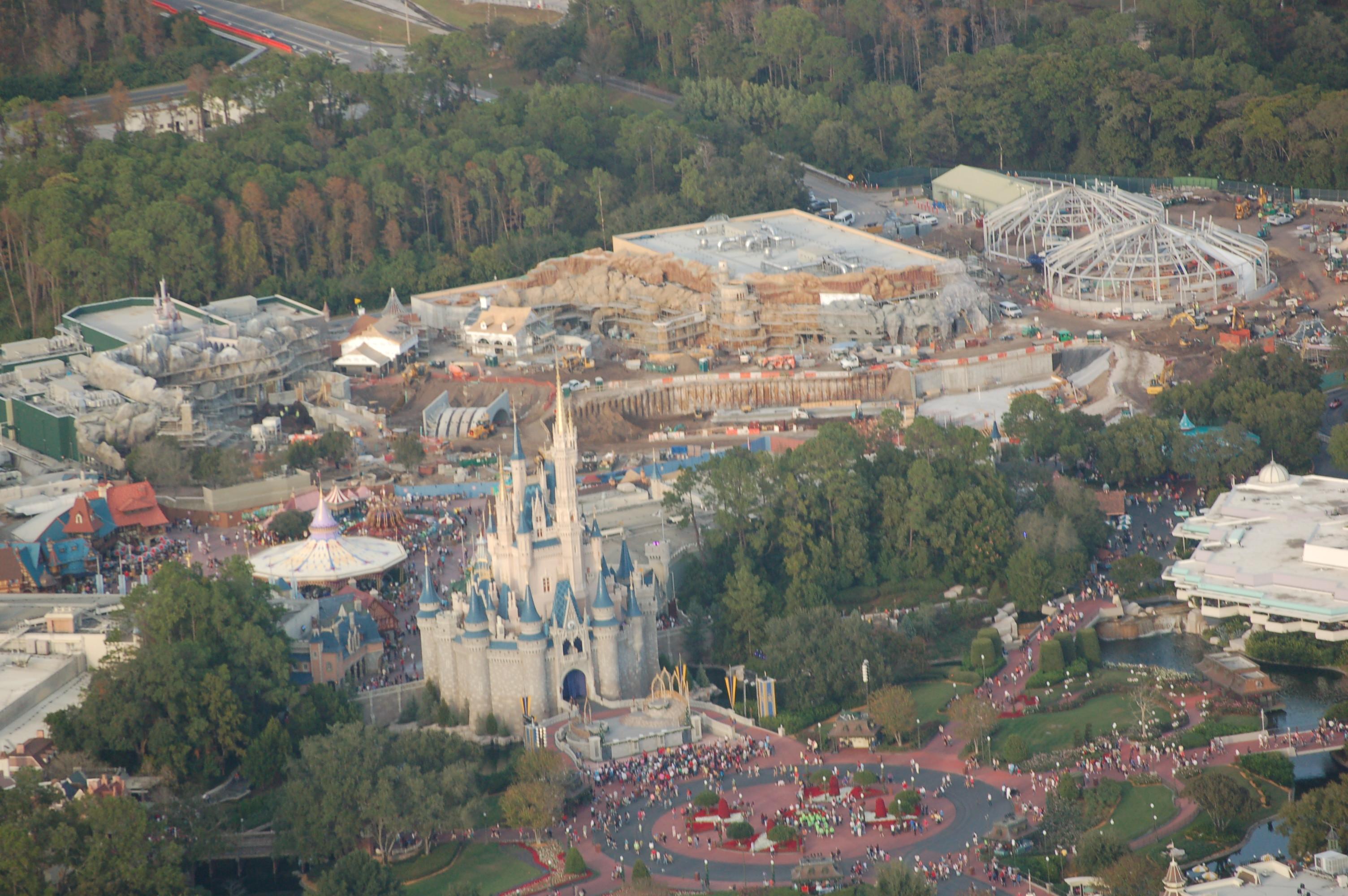 The Daily Disney: Disney World News Tips - Orlando Sentinel Aerial pictures walt disney world