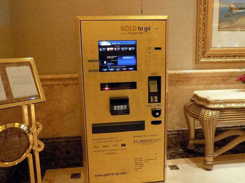 Image result for gold vending machine atm dubai pic