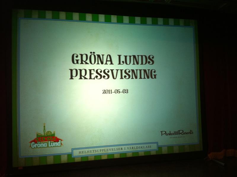 gröna lund artister 2011