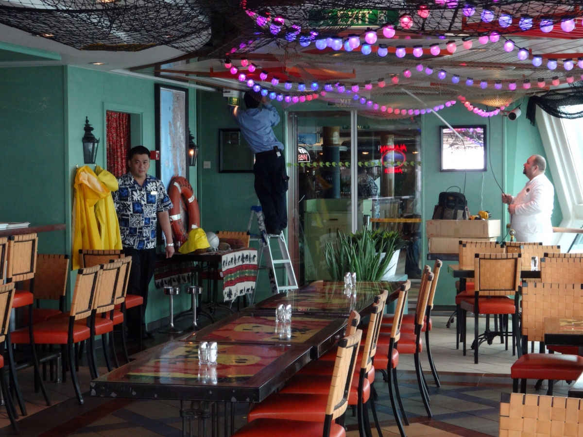 Rita S Cantina Becomes Rita S Crabshack On Radiance