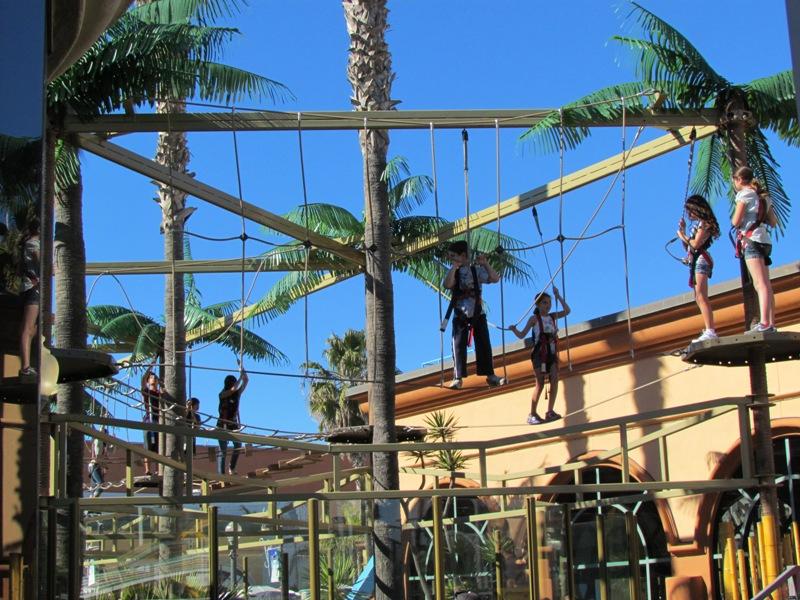 Belmont Park Sky Ropes Adventure