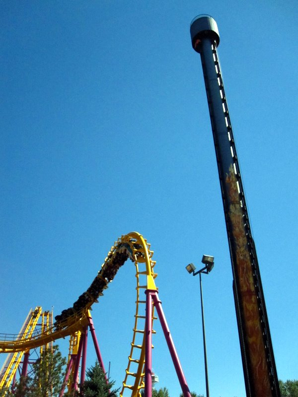 Another Standard Boomerang This One Wasn T Too Bad Either The Intamin Tower Was Ok But Nothing Special