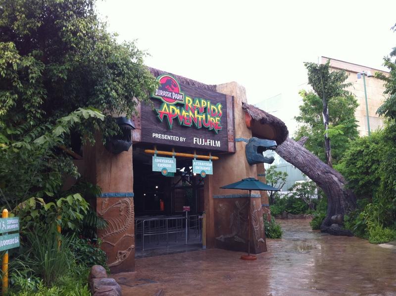 Universal Studios Singapore - Jurassic Park Rapids Adventure