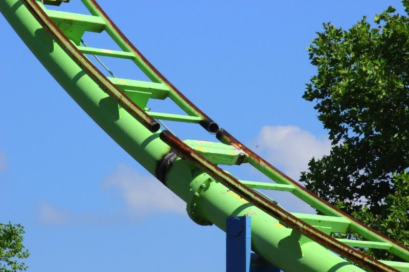 Roller Coaster Demolition : Theme park review roller coaster demolition photos page