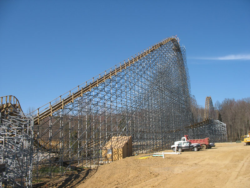 The Voyage Roller Coaster Photos, Holiday World