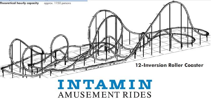 11 inversions ? Intamin