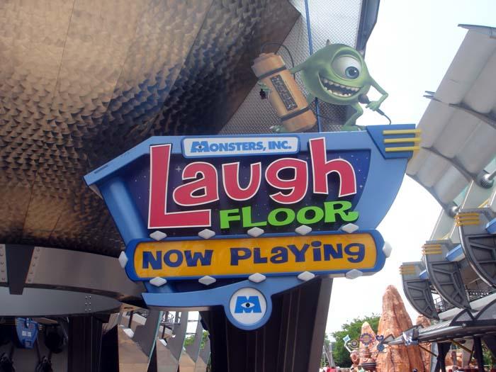 Magic Kingdom At Walt Disney World Monster S Inc Laugh