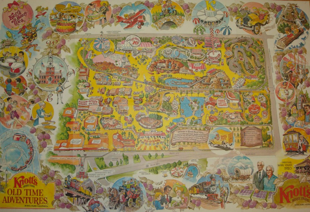Theme Park Review • Shane's Amut Attic - Page 112 on knott's berry farm map modern, knott's berry farm dining map, disneyland directions map, not of berry farm map, knott's berry farm california map, knott's berry farm map 2014,