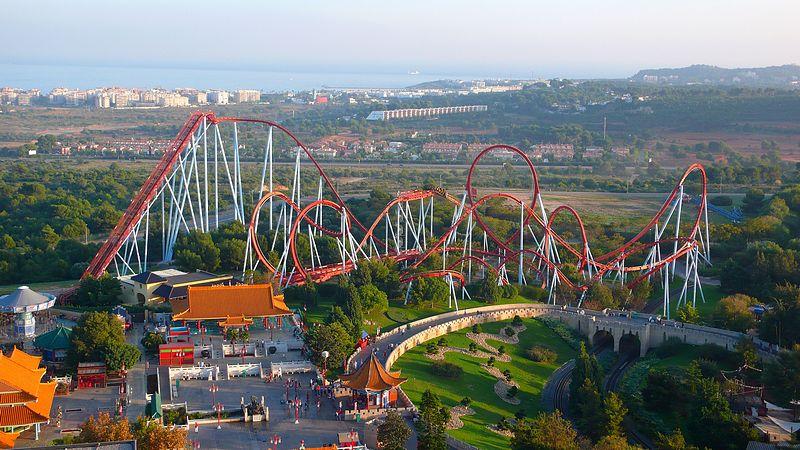 photo tr port aventura spain theme park review