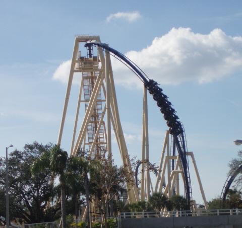 Busch Gardens Tampa Montu
