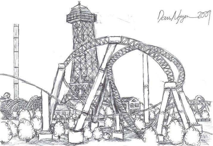 TPR And Theme Park Artwork