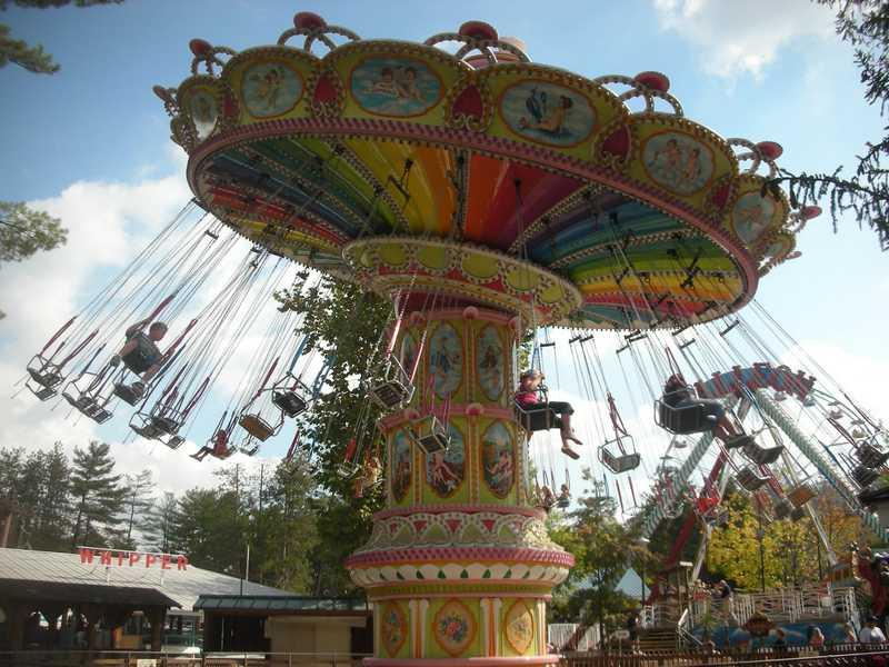 Knoebels Amusement Park Amp Resort Italian Trapeze