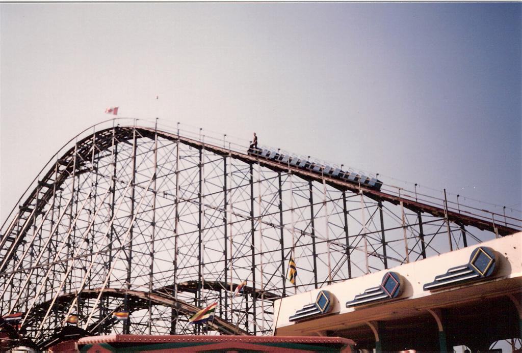 Roller Coaster Lever : Crystal beach photos videos reviews information