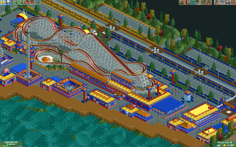Theme Park Review • Lakeshore Boardwalk [RCT2] - Page 2